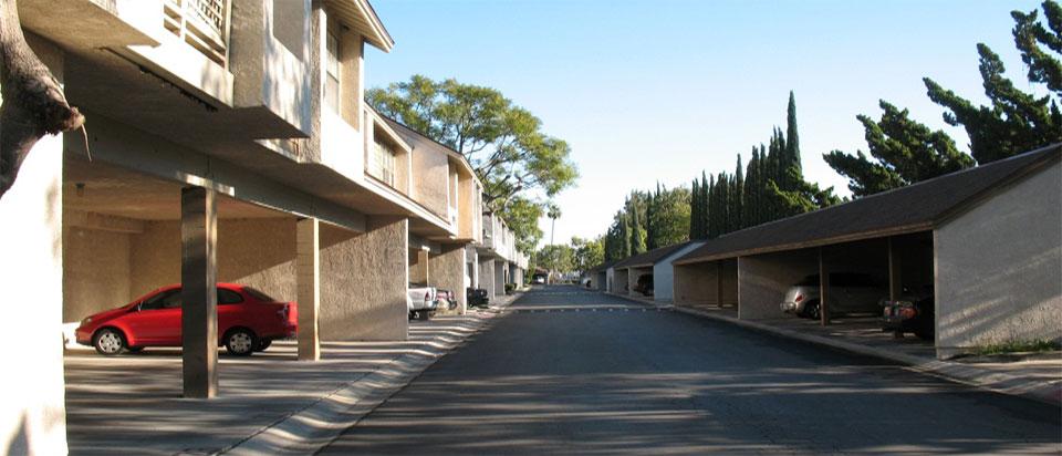 Parking & Security - Lakeside Condominiums, Garden Grove CA
